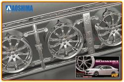 1:24 Varianza Schwert SC4 20 Inch VIP Wheels and Tyres