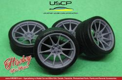 1:24 XXR 527 19'' Wheels with Tyres