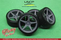 1:24 XXR 535 19'' Wheels with Tyres