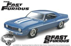 1:24  Fast and Furious '69 Chevy Camaro Yenko Model Kit