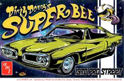 1:25 Dirty Donny's Super Bee Dodge Coronet 1970 Pro Street Model Kit
