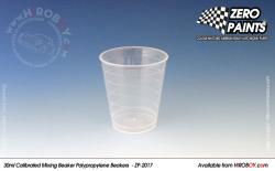 30ml Calibrated Measuring/Mixing Beakers