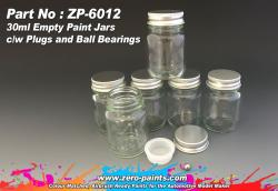 30ml Glass Jars/Bottles for Paints
