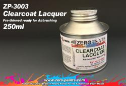 Clearcoat Lacquer 250ml - Pre-thinned ready for Airbrushing