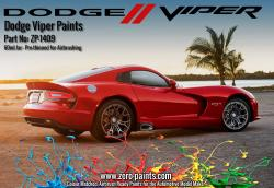 Dodge Viper Colour Matched Paints 60ml