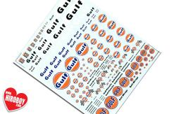 Gulf Sponsor Decals (Various Scales)