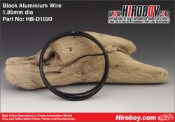 Flexible Aluminium Wire 2mm - Black