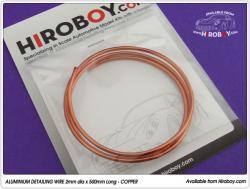 Flexible Aluminium Wire 2mm - COPPER