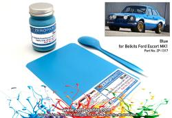 Ford Escort RS1600 Mk1 WRC Olympic Blue Paint 60ml (Belkits)