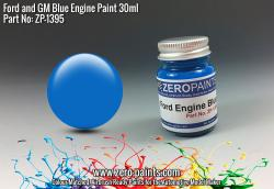 Ford and GM Blue Engine Paint 30ml