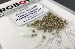 Domed Head Hexagon Nuts M1.2 (x50)