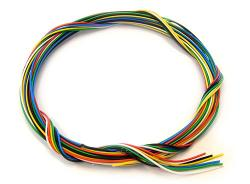 Ignition/Plug Wire/Piping Cord x 6 Colours (0.4mm)