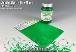 Chrysler Electric Lime Green Paint 60ml