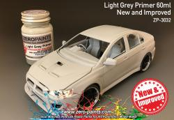 Light Grey Primer 60ml Airbrush Ready - New and Improved