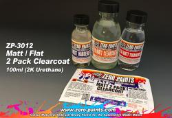 MATT/ FLAT 2 Pack Clearcoat 100ml (2K Urethane)