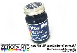 Navy Blue (US Navy) Similar to Tamiya AS-8 Paint 60ml