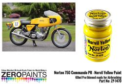 Norton 750 Commando PR - Norvil Yellow Paint 60ml