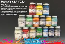 RAL Paints (European Standard Colour Range) 60ml