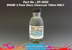 SPARE 2 Pack Gloss Clearcoat 100ml ONLY