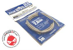 Tamiya Braided Hose 2.6mm Outer Dia #12663