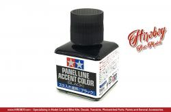 Tamiya Panel Line Accent Colour Black # 87131