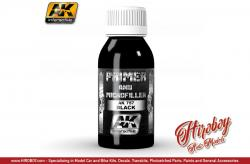 AK Interactive 100ml Black Primer and Microfiller AK757