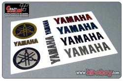 Yamaha (B) Full Colour Metal Transfers