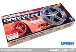 "1:24 Work Gnosis GS-2 19"" VIP Wheel and Tyre Set #92"