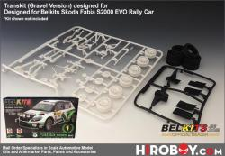 1:24 Transkit (Gravel Version) for Skoda Fabia S2000 EVO (Belkits)