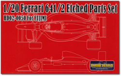 1:20 Ferrari 641/2 Photoetched Detail up Set (Fujimi)