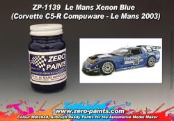 Corvette C5-R  Le Mans Xenon Blue Paint 2003 - 60ml