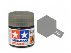 Tamiya Acrylic Mini X-19 Smoke (Gloss) - 10ml Jar