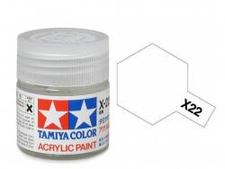 Tamiya Acrylic Mini X-22 Clear - 10ml Jar
