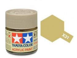 Tamiya Acrylic Mini X-31 Titan. Gold  (Gloss) - 10ml Jar