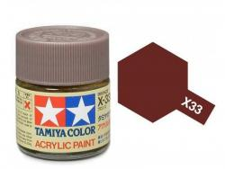 Tamiya Acrylic Mini X-33 Bronze  (Gloss) - 10ml Jar