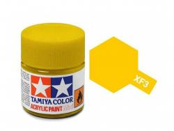 Tamiya Acrylic Mini XF-3 Flat Yellow - 10ml Jar