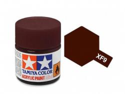 Tamiya Acrylic Mini XF-9 Hull Red - 10ml Jar