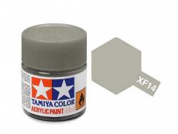 Tamiya Acrylic Mini XF-14 J. A. Grey - 10ml Jar