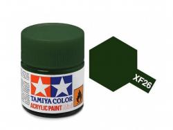 Tamiya Acrylic Mini XF-26 Deep Green - 10ml Jar