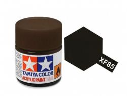 Tamiya Acrylic Mini XF-85 Rubber Black - 10ml Jar