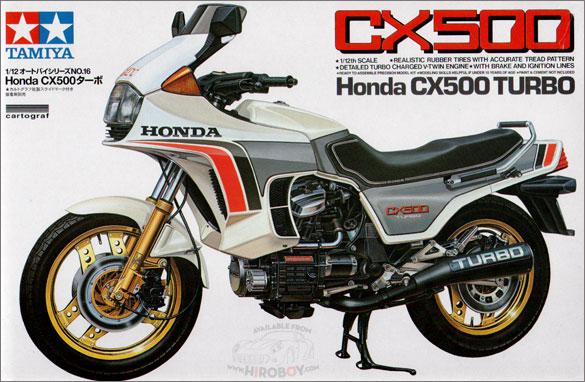 1:12 Honda CX500 Turbo - 14016