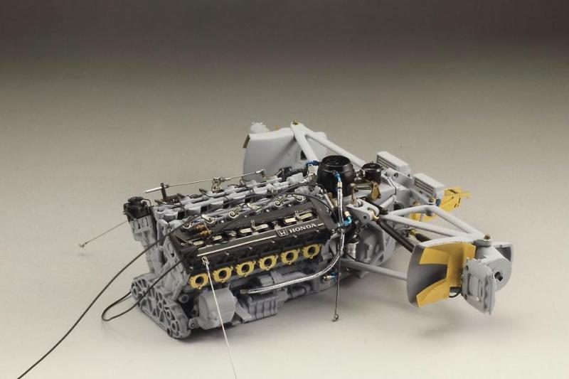 1:12 Mclaren MP4/6 Engine Detail-up Set