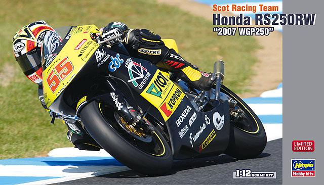 "1:12 Scot Racing Team Honda RS250RW ""2007 WGP250"""