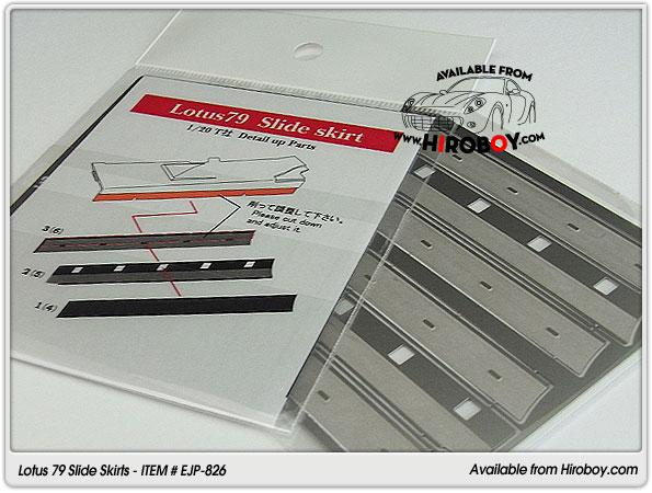 1:20 Lotus 79 Slide Skirts (Tamiya) - EJP-826