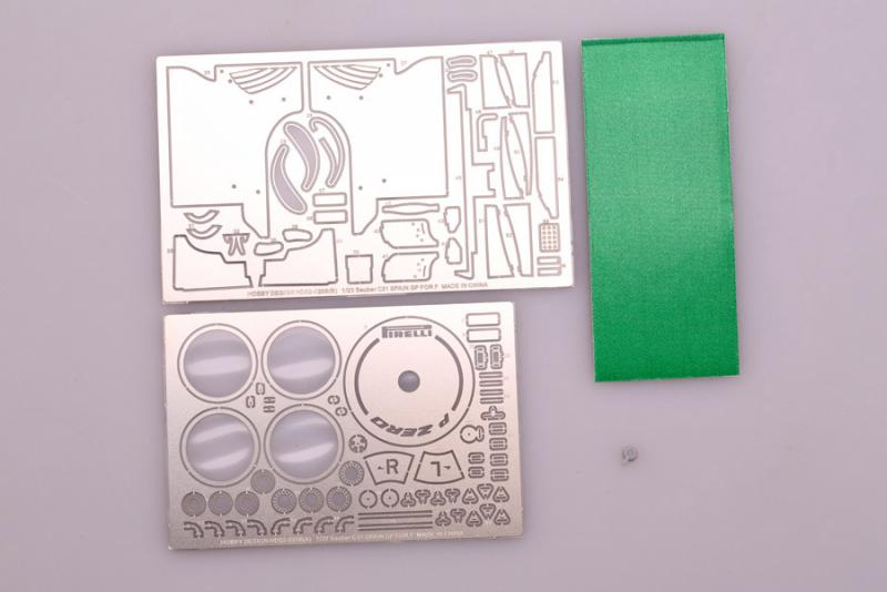 1:20 Sauber C31 Spain GP Photoetched Detail up Set (Fujimi)