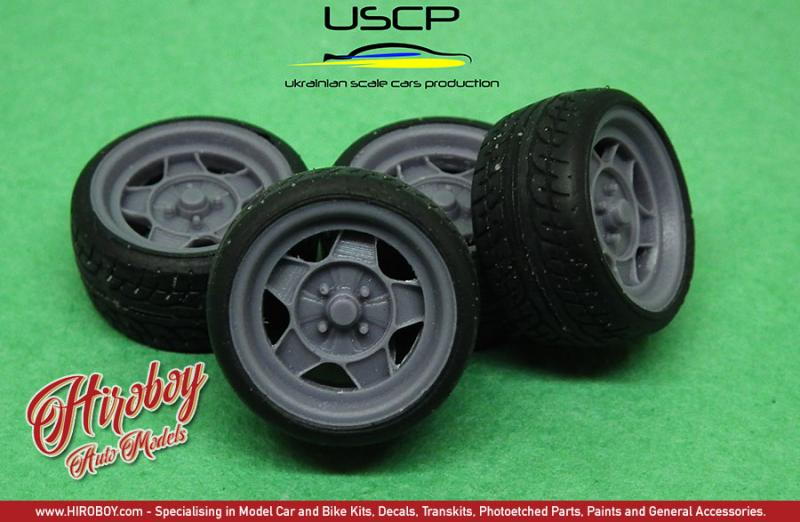 1:24 ATS Classic 15'' Wheels with Stance  Tyres