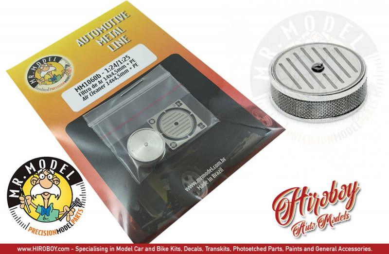 1:24 Air Cleaner/Filters 14x4.5mm + PE style 2