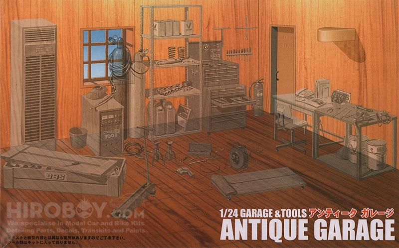 1:24 Antique Garage Diarama