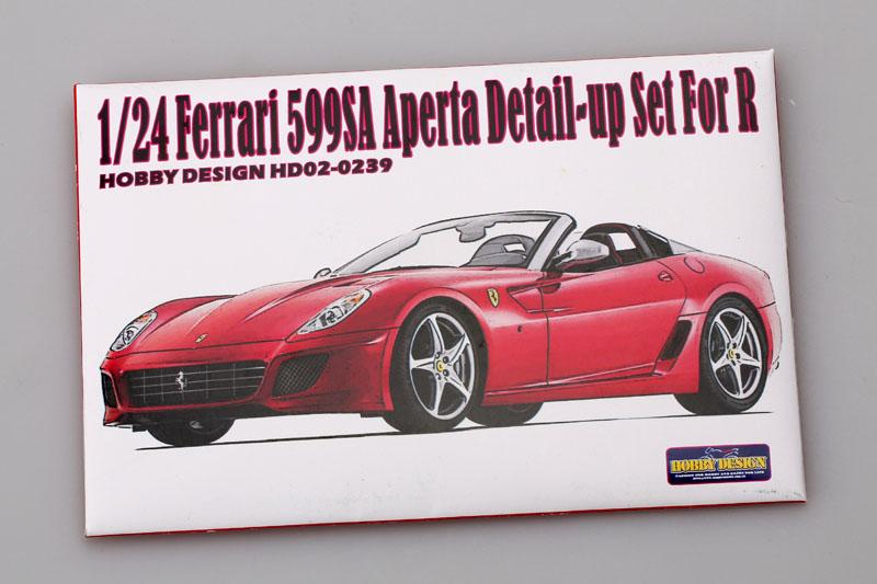 1:24 Ferrari 599 SA Aperta Detail-up Set for Revel Photoetched+Resin
