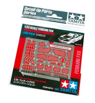 1:24 Ferrari FXX Photoetched Parts